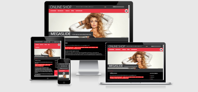 modified Responsive Template Shopdesign SHADOW