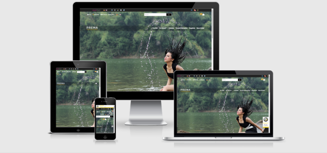 Modified Responsive Template PREMA - Mode, Haushalt & Freizeit