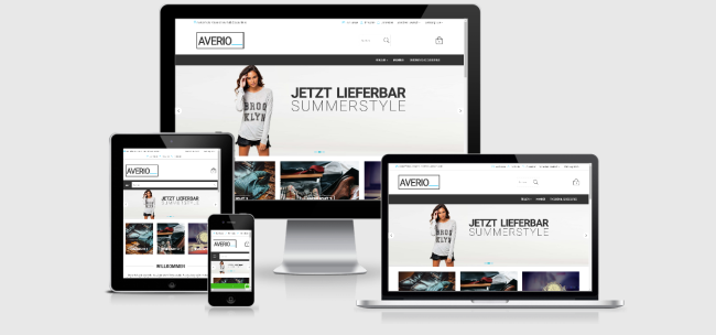 Responsive Template xtCommerce 6 (Free/Pro)