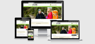 Responsive Template OUTDOOR - Wandern & Camping