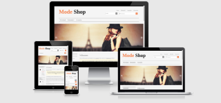 Responsive Template MODA - Fashion, Kleidung & Accessoires