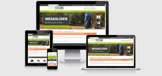 Responsive Template JTL Shop OUTSTORE - Outdoor, Wandern & Diverses