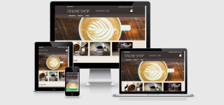 Responsive Shopdesign xt:Commerce COFFEE